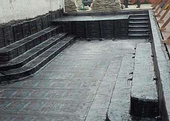 Impermeabilização de piscinas enterradas
