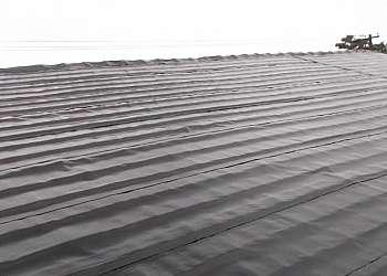 Impermeabilização de telhados com manta asfaltica