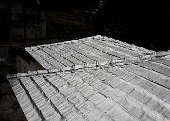 Manta asfaltica com aluminio