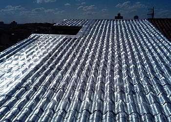 Manta térmica para forro de telhado