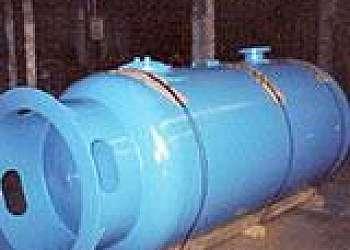 Impermeabilização de reservatório grande